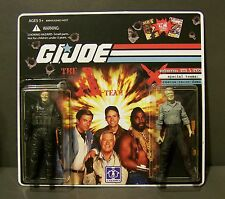 "Custom GI Joe figure set and package  ""Brains and Beauty""  The A Team  (set # 1)"