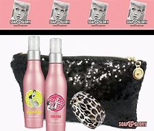 Soap And Glory Fragrance Mist Set With Clutch and Leopard Cuff