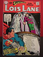 DC Comics Superman's Girlfriend Lois Lane #90 Feb 1969