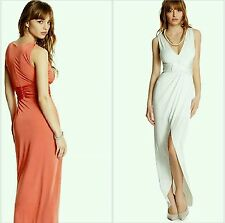 GUESS BY MARCIANO white Treccias Maxi Dress size S