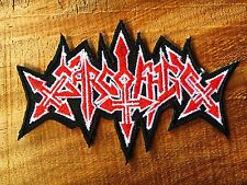 SARCOFAGO Sepultura Music Iron on Patch Band Retro Black Badge Thrash Patch