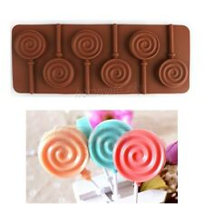 Lollipop Jumbo Decorating Birthday Easter Stick Chocolate Silicone Baking Mould