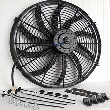 """1987-2006 Jeep Wrangler Radiator Fan 16"""" Electric Stay Cool Fan 2100cfm Quiet"""