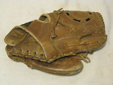 vintage Ted Williams Autograph Model 1650 baseball mitt glove cowhide Sears