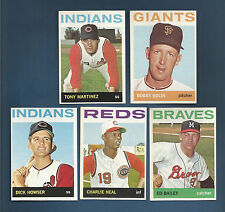 1964 TOPPS INDIANS DICK HOWSER  SP CARD #478