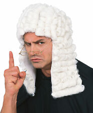 Legal Historical Lawyer Barrister Judge Costume Men Wig