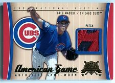 2004 National Pastime American Game GREG MADDUX 2 Color Logo Patch Rare SP #/46