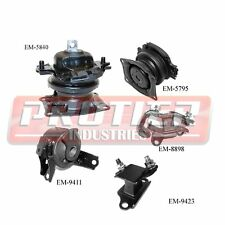 Engine Motor & Trans Mount Set for 2005-06 Honda Odyssey 3.5L Touring / EX-L