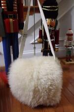 Ugg shearling flap shoulder bag purse (pu3000