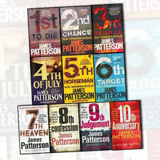 James Patterson Womens Murder Club 10 Books Collection Set 10th Anniversary