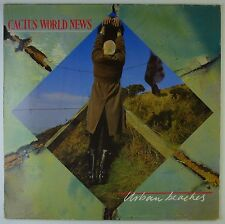 "12"" LP-Cactus world News-urban Beaches-k5762-washed & cleaned"