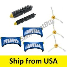side brush kit + AEROVAC filters irobot Roomba 550 585 595 620 630 650 655 660