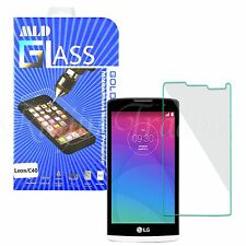 Quality Tempered Glass Screen Protector Clear Film Guard  For LG Leon C40 H326