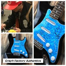 GFA Keaton Wesley & Drew * EMBLEM3 * Signed Electric Guitar PROOF AD1 COA