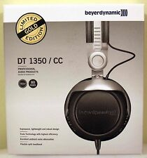 NEW Beyerdynamic DT 1350 Headphones Limited Edition GOLD Closed Supraaural 80Ohm