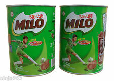 NESTLE MILO CHOCOLATE MALT ENERGY DRINK 400G (PACK OF 2)