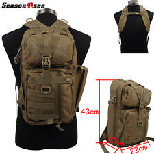 Outdoor Sports Tactical Military Molle Backpack Pack Hunting Hiking Camping  Bag