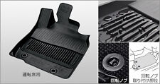 2013 2014 2015 TOYOTA HARRIER GENUINE FRONT WATER PROOF FLOOR RUBBER MAT JDM VIP