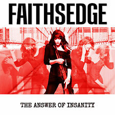FAITHSEDGE - The Answer To Insanity - CD DIGIPACK