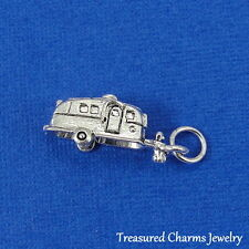 Silver CAMPER RV Airstream Motor Home CHARM PENDANT