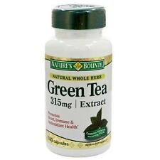 Natures Bounty 3131 Green Tea Extract 315mg 100 Capsules Weight Loss GOOD DATE