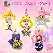 BANDAI CANDY TOY Sailor Moon Charm Strap figure Twinkle Dolly Part 3 Set of 5
