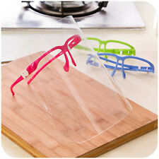 Novelty Kitchen Cooking Anti-Oil Splash Clear Face Mask  Shield Protector new