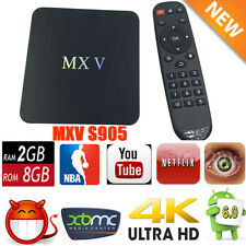 XBMC Fully Loaded WIFI Media Quad Core MXV+ Android Smart 2G+8G TV BOX Stream OY