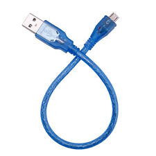 High Speed Short USB 2.0 A Male to B Male Micro 5 Pin Data 28/24AWG Cable 30cm