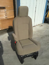 08 09 FORD ECONOLINE E150 E250 E350 E450 VAN DRIVER BUCKET RV SEAT TAN XLT CLOTH