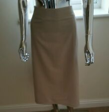 Used Ladies Skirt By Canvas In Cream Size 20