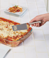CUT AND SERVE SPATULA ~STAINLESS STEEL ~GREAT FOR PIES~CAKES ~LASAGNA ~BARS ~NIP