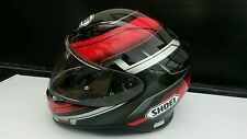 SHOEI RF-1200 MYSTIFY TC-1 MEDIUM STREET HELMET BLACK RED