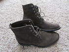 NEW AMERICAN EAGLE WINGTIP ANKLE BOOTS MENS 12 BROWN SUEDE LEATHER