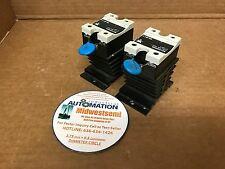 LOT OF 2  CARLO GAVAZZI RS1A40D40 40A 4-32VDC + HEAT SINK FREESHIPSAMEDAY