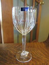 "NEW WITH TAGS MARQUIS BY WATERFORD ""OMEGA"" ALL PURPOSE CRYSTAL  WINE GLASS"