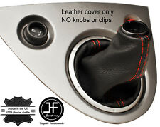 RED 2 STITCHING GENUINE LEATHER GEAR GAITER FOR HONDA CIVIC TYPE R EP3 01-05