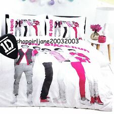 One Direction 1D (pink) - Queen Bed Quilt Doona Duvet Cover Set