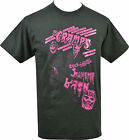 MENS BLACK T-SHIRT THE CRAMPS HORROR FRANKENSTEIN MONSTER BASH PINK CBGBs S-5XL