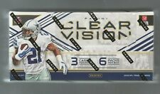 2016 Panini Clear Vision Football Factory Sealed Hobby Box