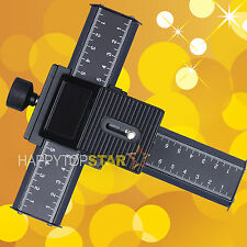 4 Way Macro Micro Focusing Rail Slider Tripod Photo Nikon Canon Pentax Olympus