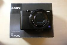 Sony Cyber-shot RX100 II 20.2MP Digital Camera - Black