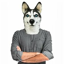 Husky Dog Costume Face Mask - Off the Wall Toys Kennel Club