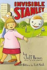 Invisible Stanley (Flat Stanley)-ExLibrary
