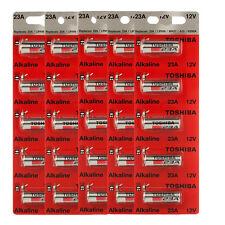 Toshiba A23 Battery 12Volt 23AE 21/23 GP23 23A 23GA MN21 12v 25 Batteries