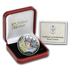 2007 Isle of Man 1 Crown Sleeping Beauty Proof (Colorized) - SKU #89304