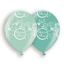 Hens Night Balloons X10 Bachelorette Party Decoration 2 Shades of Green