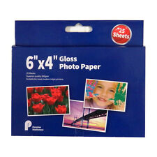 Photo Paper 6 x 4 - 200gsm Smooth Gloss - 25 Sheets - Size 152mm x 102mm