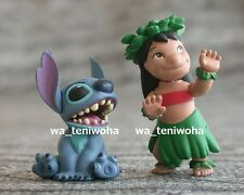 "New Full Set! ""Lilo and Stitch"" So Tiny! 1.6 inch! 2 Figures Disney Choco Egg"