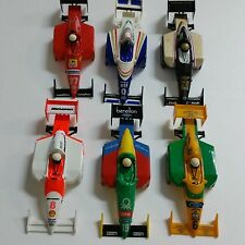TYCO F1 BODIES LOT OF 6, SLOT CAR , NEW! ,fire sale!!!